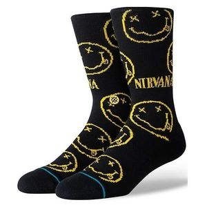 Stance Nirvana Face Unisex Socks Black