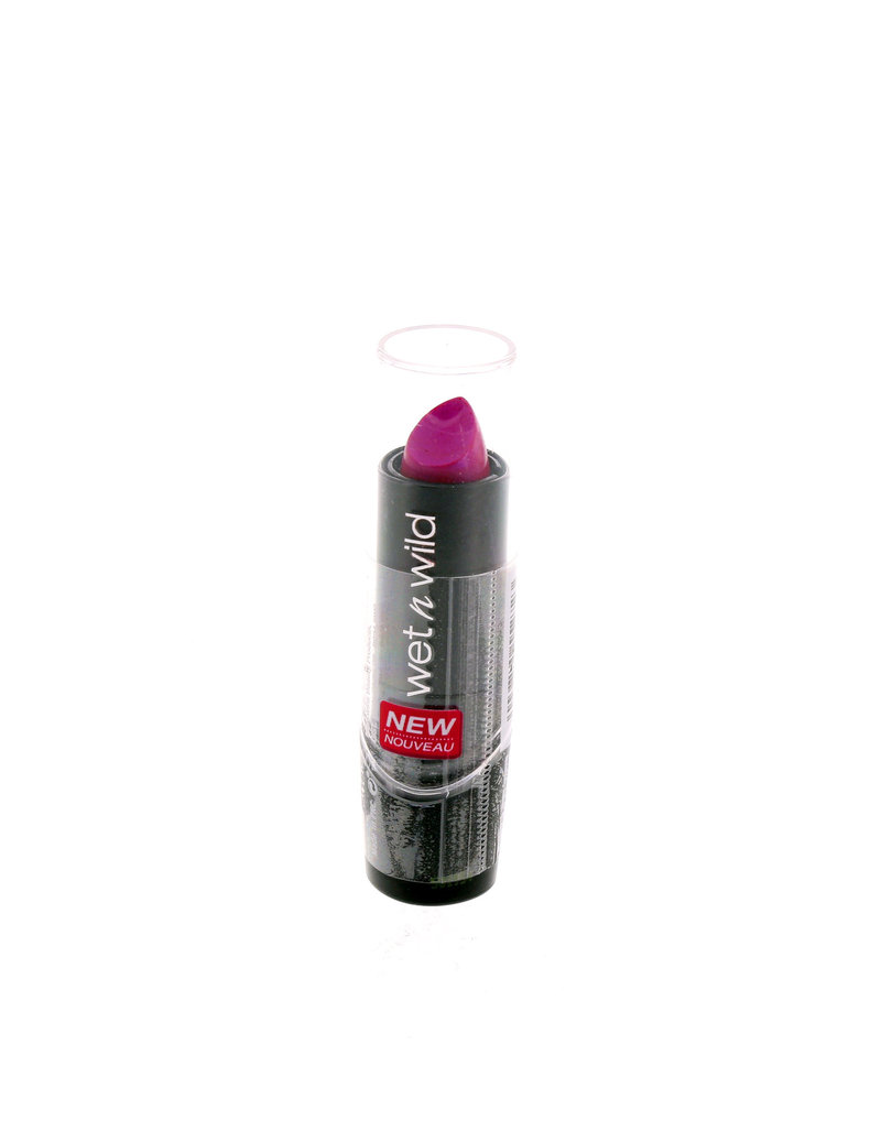 Wet N Wild Silk Finish Lipstick Fuchsia With Blue Pearl