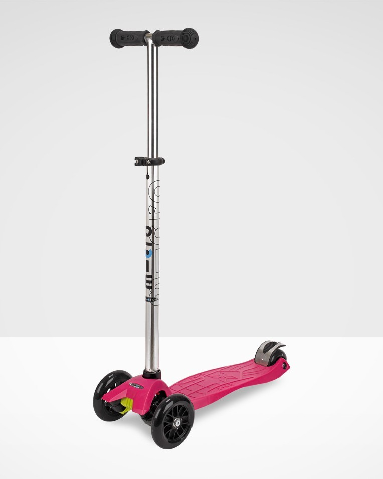 Maxi Micro Scooter Pink W/T Bar