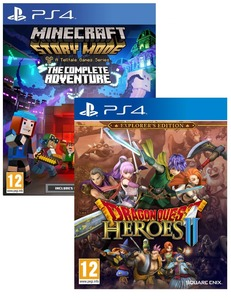 Minecraft Complete Adventure + Dragon Quest Heroes II Explorer Edition