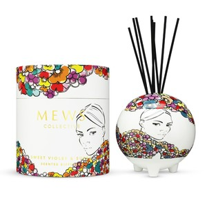 Mews Collective Sweet Violet & Suede Diffuser 350ml