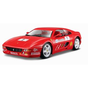 BBurago Ferrari F355 Challenge Red 1/24 Scale Model Car