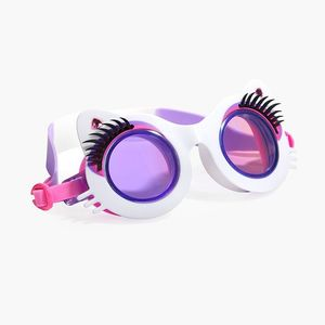 Bling2O Swimming Goggles Pawdry Hepburn White N Boots