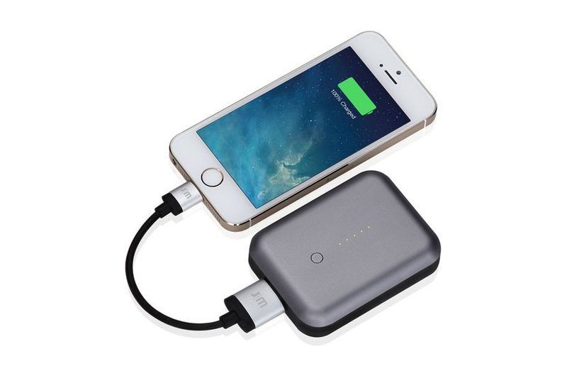 Just Moblie Gum++ Portable Usb Power Pack 6000Mah Grey