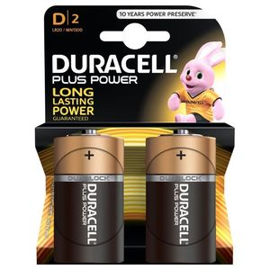 Duracell Plus Power Type C Alkaline Battery