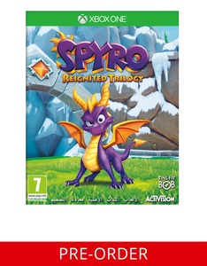 Spyro Reignited Trilogy Xbox One [Pre-order]