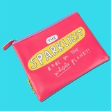 The Happy News Sparkliest Babe Large Pouch