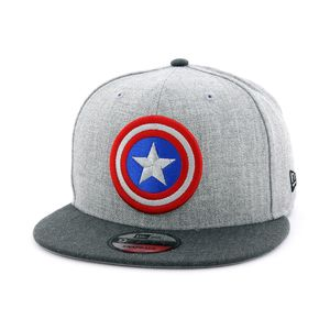 New Era Captain America Men's Cap Grey