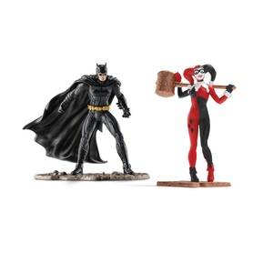 Schleich Scenery Pack Batman Vs Harley Quinn Action Figure