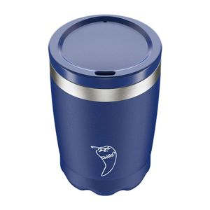 Chilly's Bottles Matte Blue Coffee Cup 340ml