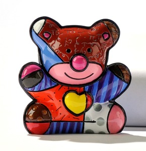 Romero Britto Mini Bear Figurine