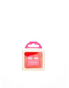 If Reader's Ear Plugs Pink
