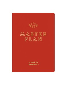 Galison Master Plan Writer's Undated Planner