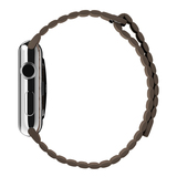 Apple Watch Light Brown Leather Loop 42mm Large