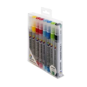 Montana Colors Water Based Markers Medium 5 mm [Pack of 8]