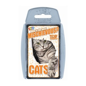 Top Trumps Cats Card Games English & Arabic