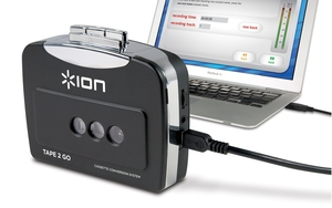 ION Tape-2-Go Digital Conversion Cassette Player