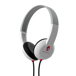 Skullcandy Uproar W/Tap Tech White/Gray/Red Headphones
