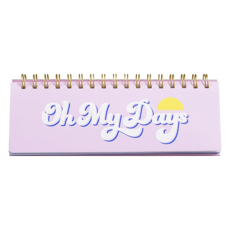 Yes Studio Oh My Days Weekly Desk Planner