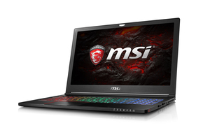 "MSI Gaming GS63 7RD Stealth 2.8GHz i7-7700HQ 16GB/1TB 15.6"" Black Notebook"