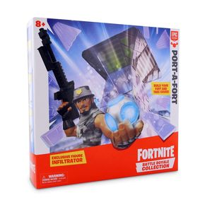Fortnite Battle Royale Collection S1 Port a Fort Display Set