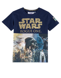 Star Wars Rogue One Foil Poster Print T-Shirt