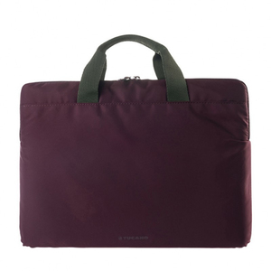 TUCANO MINILUX SLEEVE BURGANDY FOR LAPTOPS UP TO 14-INCH