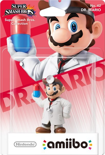Super Smash Bros.: Dr. Mario No. 42 - amiibo