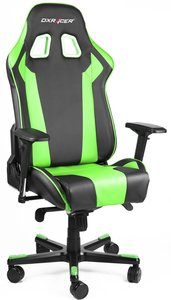 DXRacer King Series Black/Green Gaming Chair