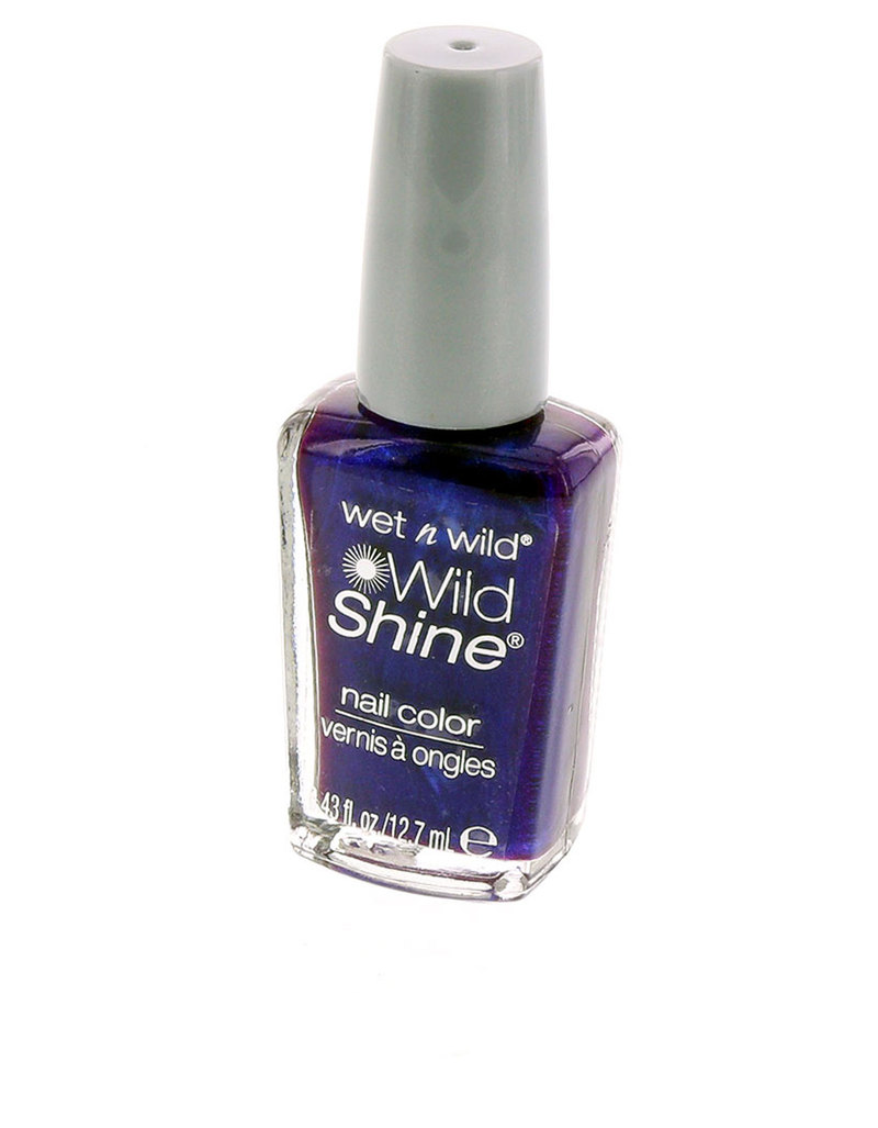 Wet N Wild Ws Nail Color Eggplant Frost