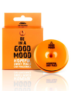 Good Mood Hopeful Sweet Peach Car Fragrance 0.52 Oz.