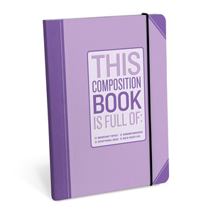 Knock Knock Composition Book Important Topics Notebook