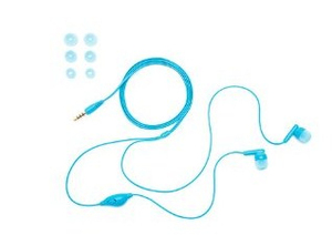 Griffin Tunebuds Blue Earphones