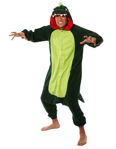 Dinosaur Kigurumi Adult Fleece Costume