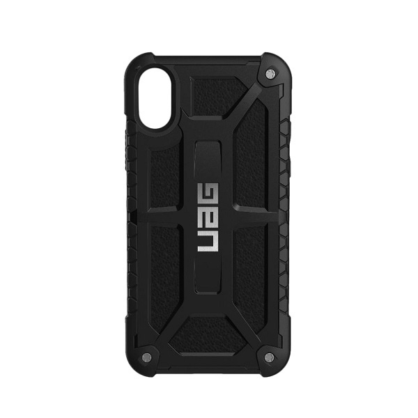 low priced cbbcb 8f1ce UAG Monarch Case Black With Silver Logo For iPhone X
