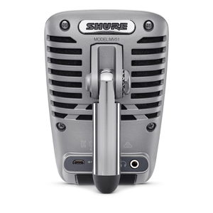 Shure MOTIV MV51 Digital Large-Diaphragm Condenser Microphone for iOS/USB