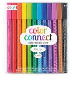 OOLY Color Connect Gel Pens [Set of 12]