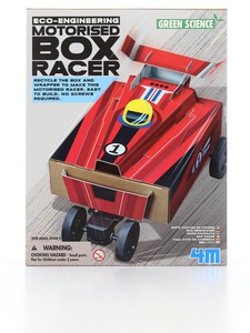 4M BOX RACER GREEN SCIENCE