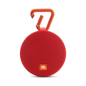 JBL Clip2 Red Bluetooth Speaker