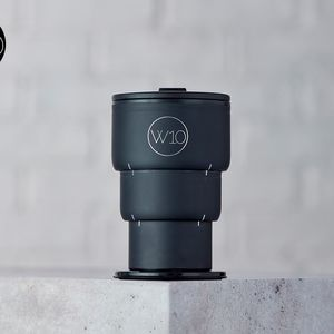 W10 Golborne Matte Black Collapsible Cup 400ml
