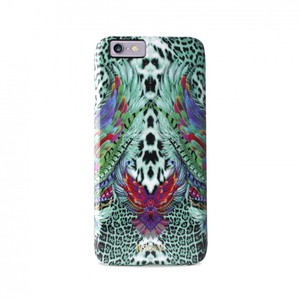 Puro Just Cavalli Wings Case Green Board iPhone 6