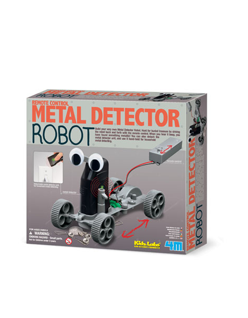 Kidz Labs/Metal Detector Robot Science Kit