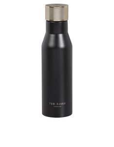 Ted Baker Knurled Lid Black Onyx Water Bottle