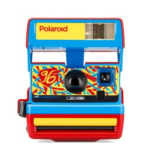 Polaroid 600 96 Cam Jazz Red Special Edition Camera