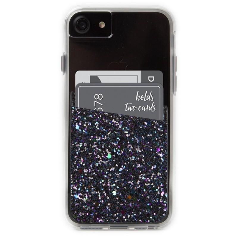 outlet store 6bb1e 57208 Case-Mate ID Pocket Black Iridescent Glitter
