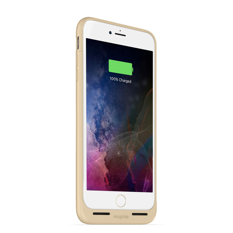 factory authentic ec73c fb1f6 Mophie Juice Pack Air 2750mAh Battery Case Gold iPhone 8/7 Plus