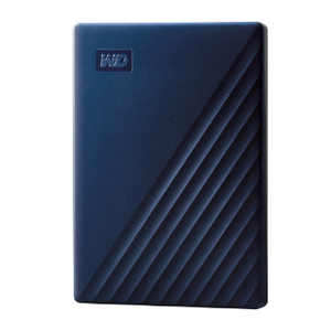 WD My Passport 5TB HDD Blue for iOS