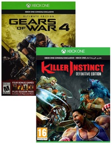 Gears Of War 4: Limited Edition + Killer Instinct: Definitive Edition [Bundle]