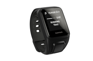 Tomtom Spark Cardio Black Small Gps Fitness Watch With Heart Rate Monitor