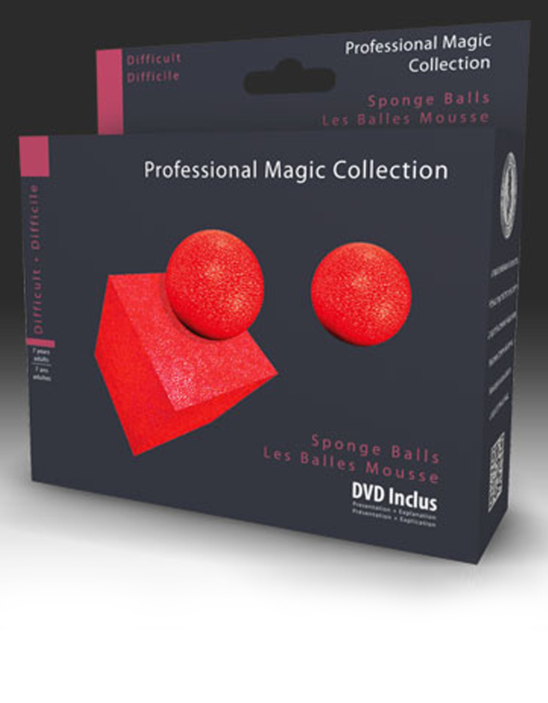 Oid Magic Sponge Balls Illusion With Dvd